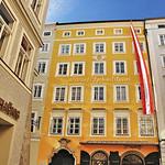 Salzbourg - Maison natale de Mozart