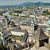 Salzbourg - Au balcon de la forteresse