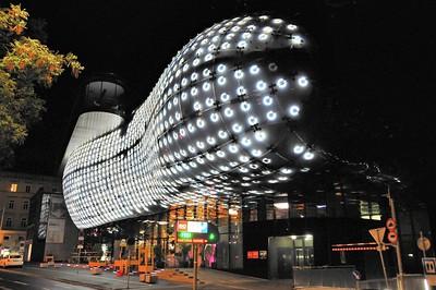 Graz - Les facéties lumineuses de la Kunsthaus