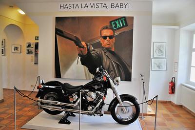 "Thal - Musée d'Arnold Schwarzenegger - ""Hasta la vista, baby !"""