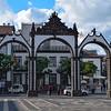 "Ponta Delgada's ""Portas da Cidade"" or main gate"