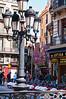 Street Scene. Barcelona, Spain