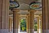 Columns at Parc Gruell