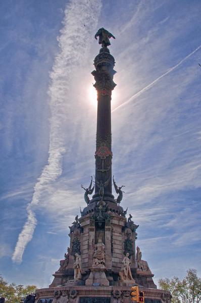 Christopher Columbus Monument, Barcelona, Spain