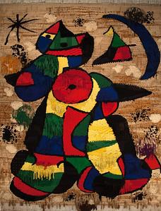 Tapis de la Fundacio, Fundacio Joan Miro