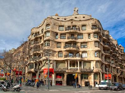 Gaudi's Le Pedrera