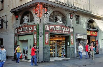 Ramblas - Pharmacie moderniste