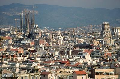 Le panorama de la ville