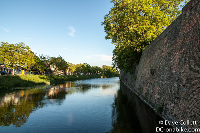 Moat outside Ypres