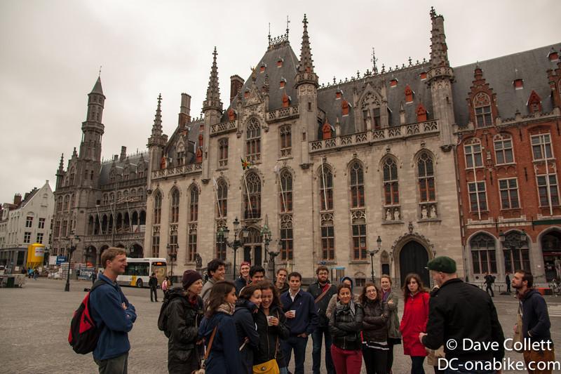 Brugge free walking tour