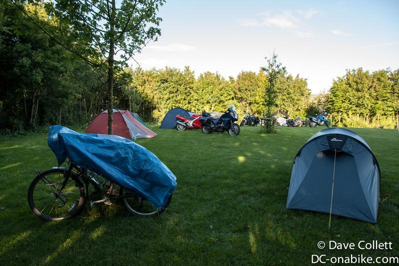 Campsite in Ypres