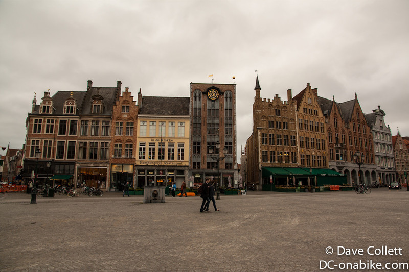 Brugge main square