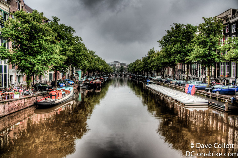 Dark Amsterdam Canal (HDR)