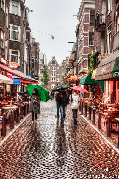 Umbrellas in Amsterdam (HDR)
