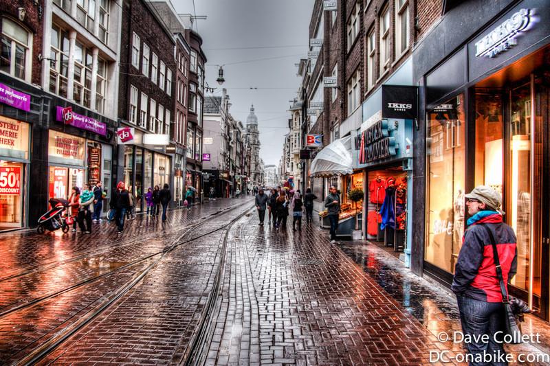Amsterdam street (HDR)