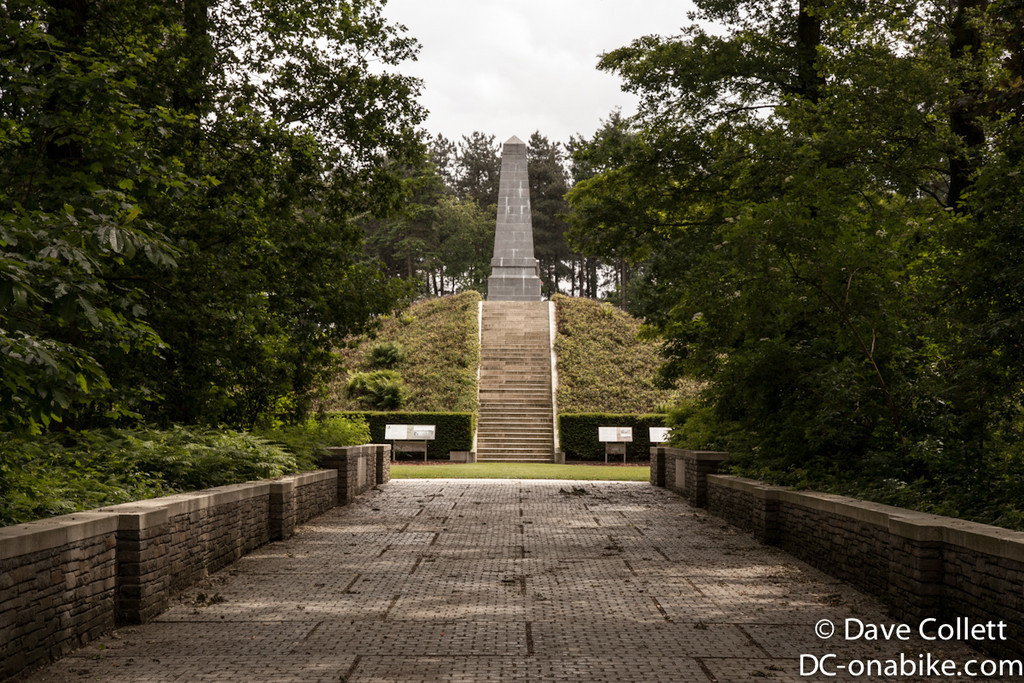Polygon Wood Cemetery/Memorial - Australian Monument