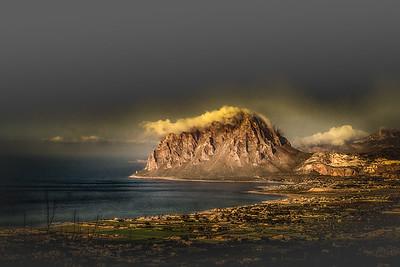 Erice view Sicily 3965