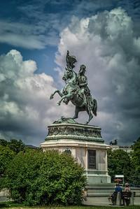 Archduke Charles Statue, Vienna