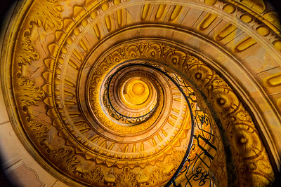 Melk Abbey library staircase