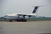 "EW-78826 Ilyushin IL-76TD ""Trans Avia Export"" c/n 1003499991 Maastricht-Aachen/EHBK/MST 16-08-96 (35mm slide)"