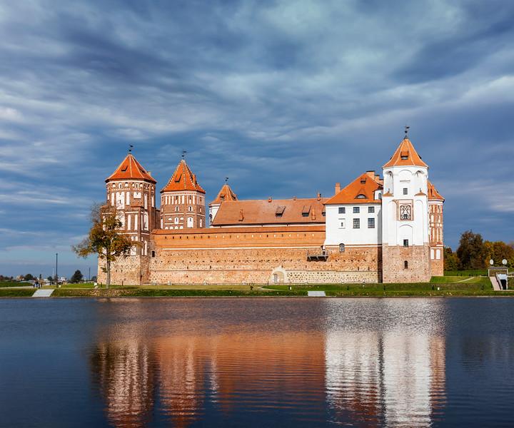 Mir castle in Belarus