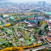 Mini Europe as seen from the Atomium - Brussels