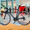 Eddy Merckx bike part of Intersections #2 exhibit in the Atomium