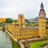 Mini Europe - British Houses of Parliament and Big Ben