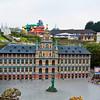 Mini Europe - The Great Town Hall in Antwerp Belgium