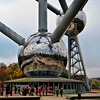 The Atomium entrance - Brussels