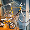 Design model of two Eddy Merckx bikes part of Intersections #2 in the Atomium