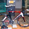 Design model of an Eddy Merckx time trial bike part of Intersections #2 at the Atomium