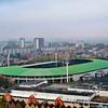 Koning Baudouin Stadion (Belgian national soccer stadium) as seen from the Atomium