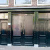 The front doors of the Anne Frank house and Otto Frank's business.