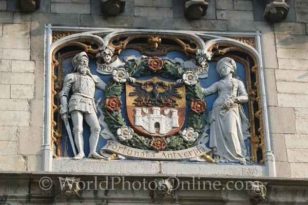 Antwerp - Het Steen - Habsburg Seal