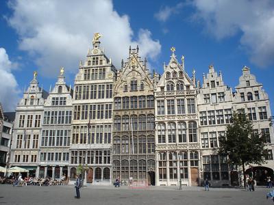Guildhalls, Antwerp (Antwerpen) - Belgium.