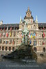 Antwerp - City Hall & Silvius Brabo Fountain