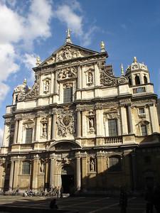 St Carolus Borromeuskerk, Antwerp (Antwerpen) - Belgium.