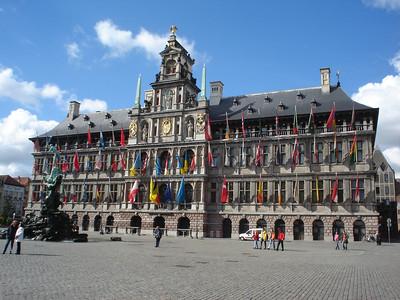 Stadhuis, Antwerp (Antwerpen) - Belgium.