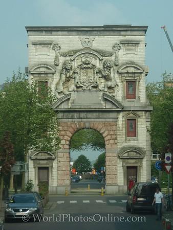 Antwerp - City Gate designed by Rubens