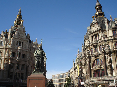 Teniersplaats, Antwerp (Antwerpen) - Belgium.