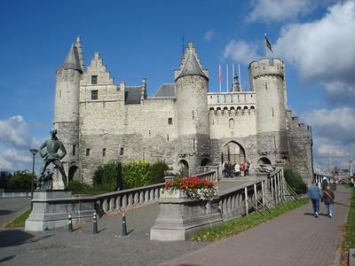 Steen, Antwerp (Antwerpen) - Belgium.