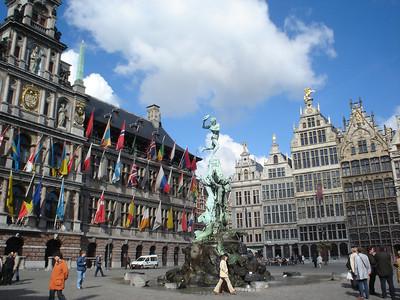 Grote Markt, Antwerp (Antwerpen) - Belgium.