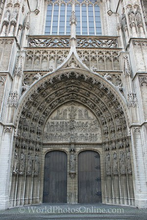 Antwerp - Cathedral - Doors