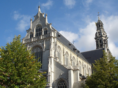 St Pauls Church, Antwerp (Antwerpen) - Belgium.