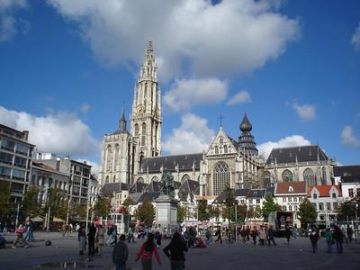 Groenplaats, Antwerp (Antwerpen) - Belgium.