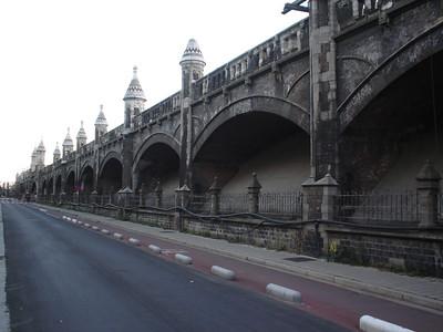 Railway Viaduct, Antwerp (Antwerpen) - Belgium.