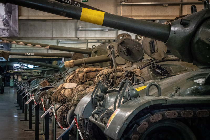 Military Vehicle Museum in Bastogne, Belgium