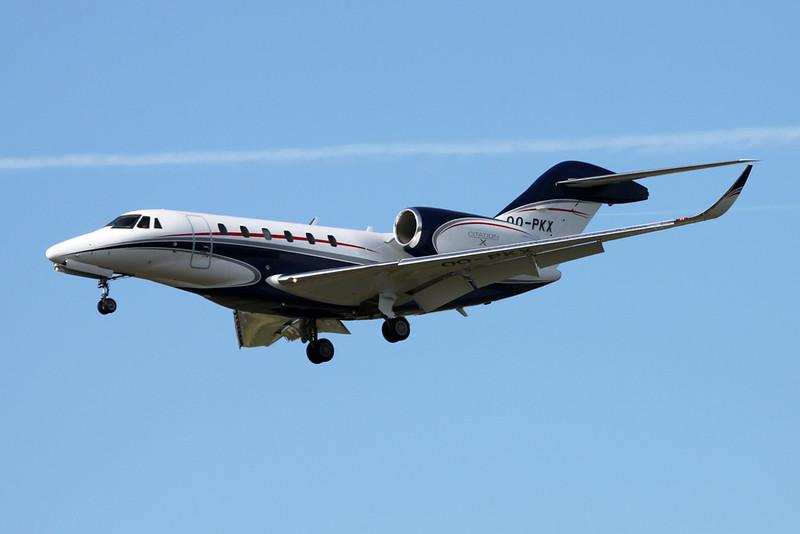 OO-PKX Cessna 750 Citation X c/n 750-0313 Paris-Le Bourget/LFPB/LBG 16-06-17