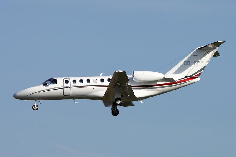 OO-FPF Cessna 525B Citation Jet 3+ c/n 525B-0505 Brussels/EBBR/BRU 26-03-17